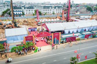 Khởi công Hoàng Huy Commerce - Dự án được mong đợi nhất tại Hải Phòng trong năm 2021