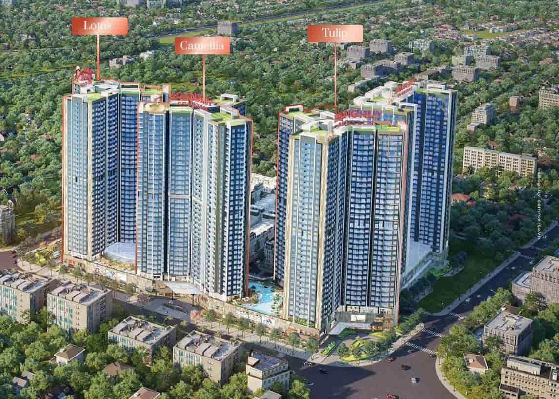 dự án Hoàng Huy Commerce với 3 tòa tháp